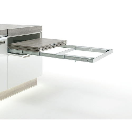 Hafele 642.19.929 Pull-out table and folding fitting with folding table leg