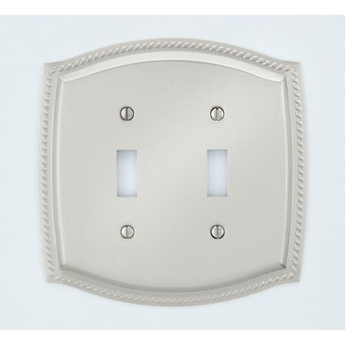 A'dor SW304 Rope Double Switch, Bright Brass