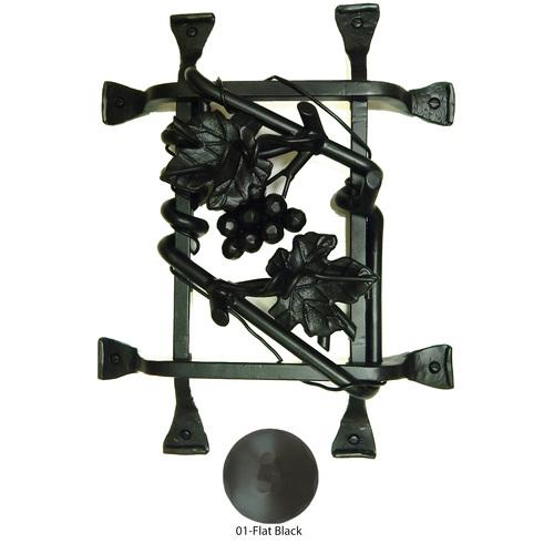Agave Ironworks GR017-01 Grapevine Cluster Grille