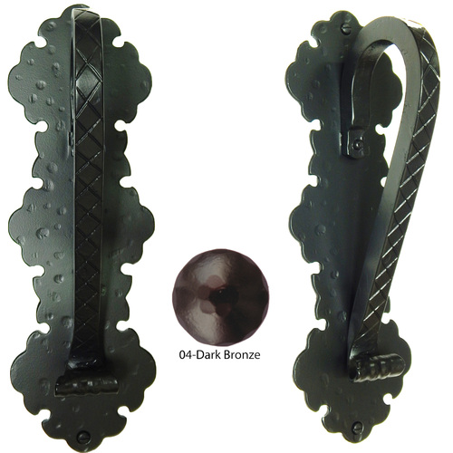 Agave Ironworks PU027-04 Gothic Handle Arch Pull