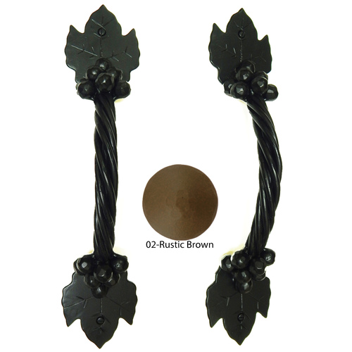 Agave Ironworks PU040-02 Grapevine Arch Pull