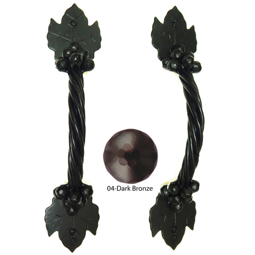 Agave Ironworks PU040-04 Grapevine Arch Pull
