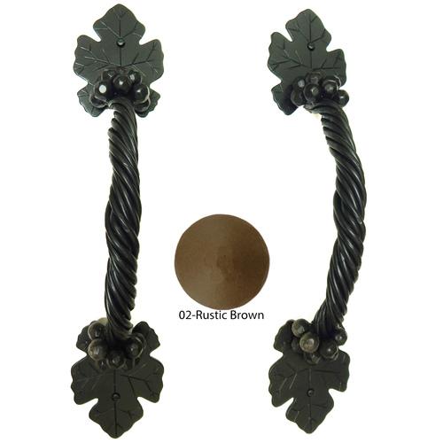 Agave Ironworks PU042-02 Grapevine Bar Pull