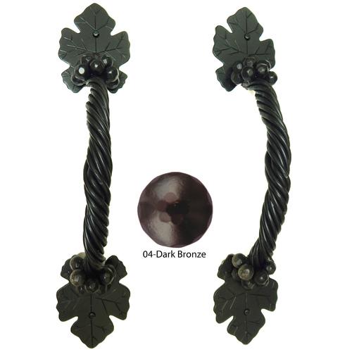 Agave Ironworks PU042-04 Grapevine Bar Pull