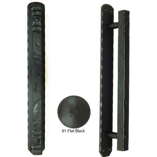 Agave Ironworks PU052-01 Cuadrado Bar Pull