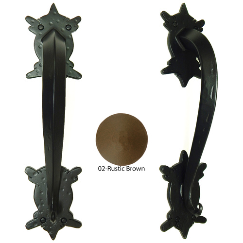 Agave Ironworks PU058-02 Espina Arch Pull