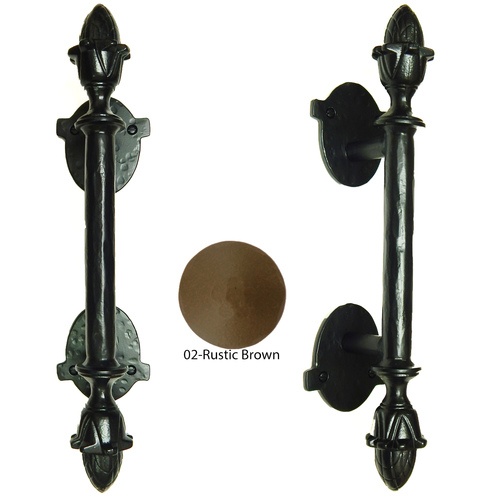 Agave Ironworks PU060-02 Flor Doble Bar Pull
