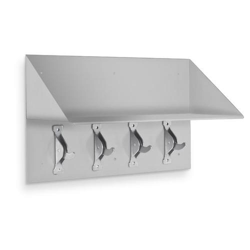 AJW US54 Collapsable Security Hook Strip & Shelf 18