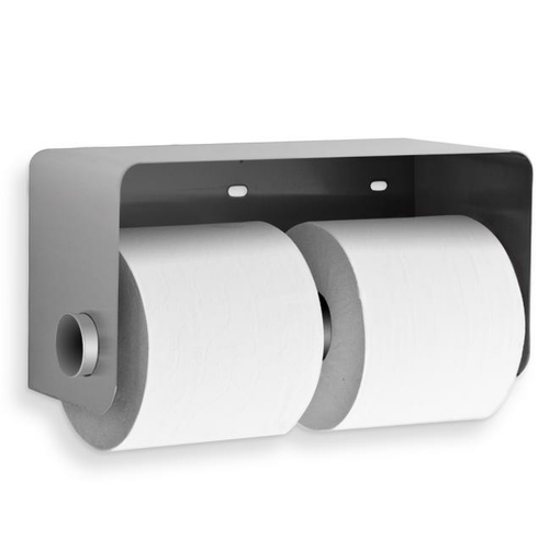 AJW US889 Dual Security Toilet Tissue Dispenser, Exposed Mounting - Surface Mounted - Non-Controlled