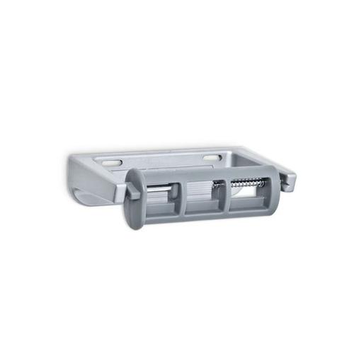 AJW U805 Single Aluminum Toilet Tissue Dispenser - Surface Mounted - Controlled