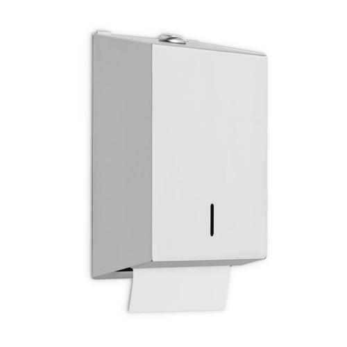 AJW U807 Single Fold Toilet Tissue Dispenser - Surface Mounted