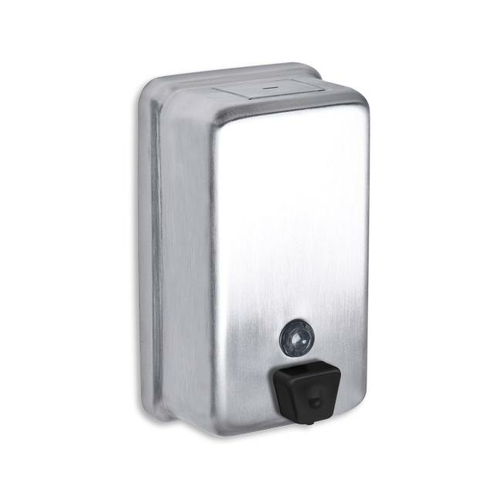 AJW U126 40 oz Vertical Liquid Soap Dispenser - Surface Mounted