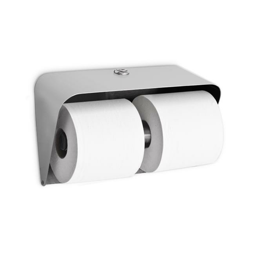 AJW U804 Dual Hooded Toilet Tissue Dispenser - Surface Mounted - Non-Controlled