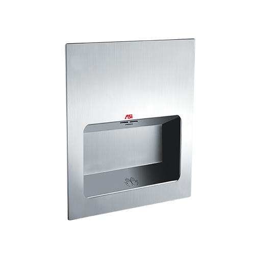 ASI 0135-2 TURBO-Tuff - Automatic High Speed Hand Dryer - (208-240V) - Satin Stainless