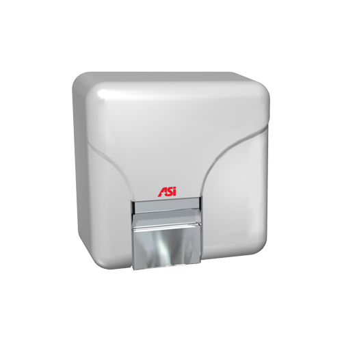 ASI 0144 Automatic Hand Dryer - (208-240V) - White - Surface Mounted
