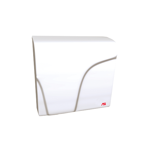 ASI 0165 Profile Compact Dryer – Surface Mounted – White