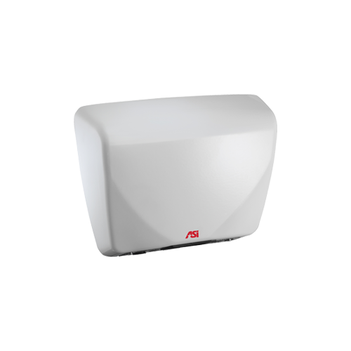 ASI 0185 Profile - Automatic Hand Dryer - Steel Cover - (100-240V) - White - Surface Mounted