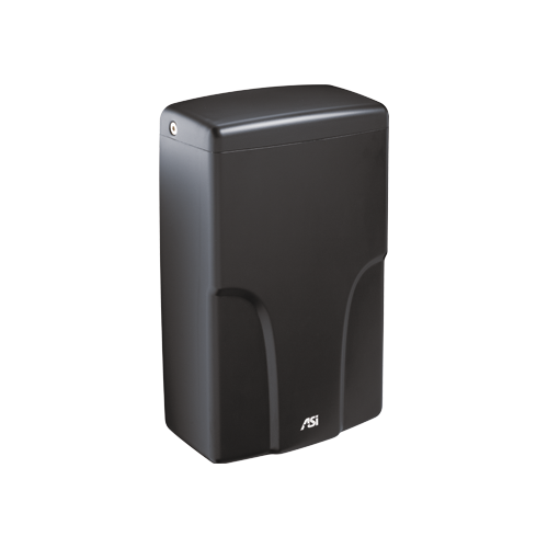 ASI 0196-1-41 TURBO-Pro - Automatic High Speed Hand Dryer - HEPA Filter - ADA Compliant - (120V) - Matte Black