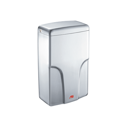 ASI 0196-2-93 TURBO-Pro - Automatic High Speed Hand Dryer - HEPA Filter - ADA Compliant - (208-220V) - Satin Stainless Steel