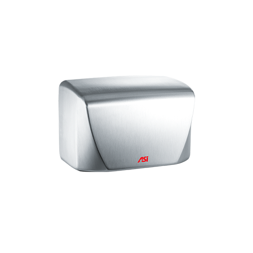 ASI 0198-2-93 TURBO-Dri Jr. - Automatic High Speed Hand Dryer - (220-240V) - 93 Satin Stainless - Surface Mount