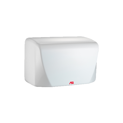 ASI 0198-2 TURBO-Dri Jr. - Automatic High Speed Hand Dryer - (220-240V) - White - Surface Mount
