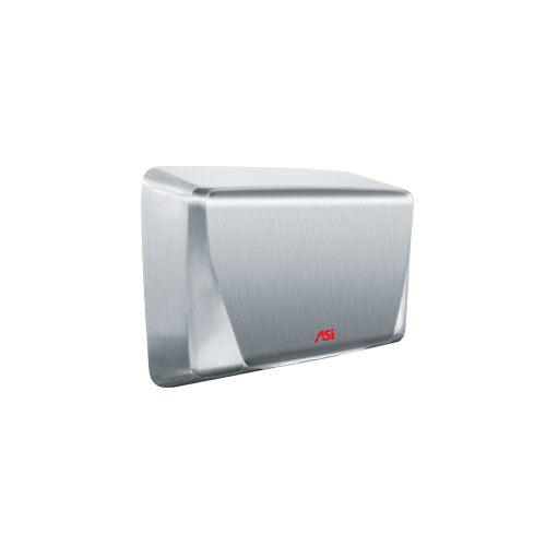 ASI 0199-3-00 Turbo-ada High-speed Hand Dryer (277v) – Ada Compliant – 93 Satin Stainless Steel