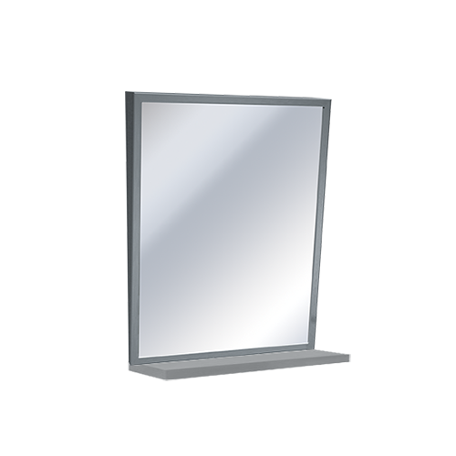 ASI 0537-1630 Mirror w/ Shelf - Fixed Tilt, Stainless Steel Frame16