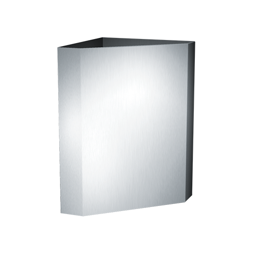 ASI 0829 Waste Receptacle, Corner-type (16 Gal.) – Surface Mounted
