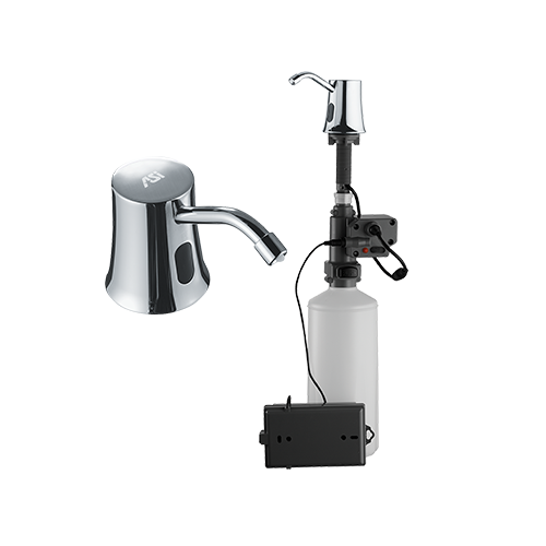 ASI 20333 Automatic Liquid Soap Dispenser – Vanity Mounted