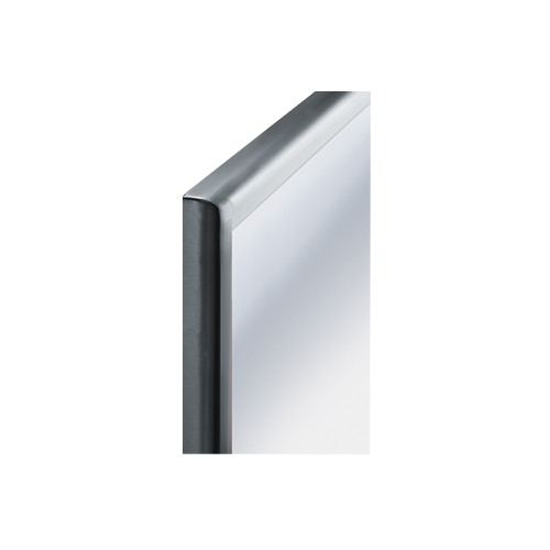 ASI 20650-1830 Roval - Mirror - Stainless Steel, Inter-Lok Frame - Plate Glass - 18
