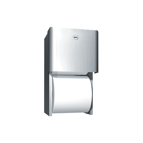 ASI 9030 Profile Collection Toilet Tissue Dispenser, Twin Roll – Surface Mounted