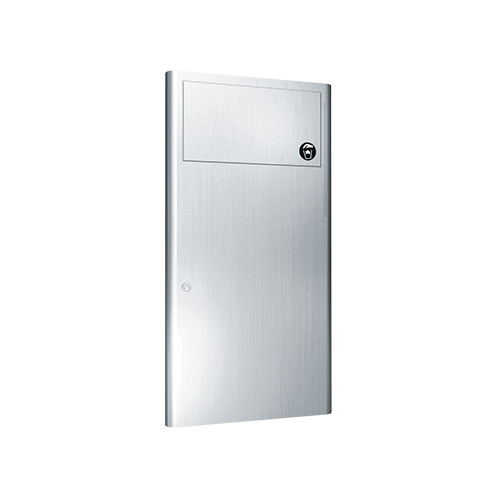 ASI 9459 Profile Collection Waste Receptacle – Recessed