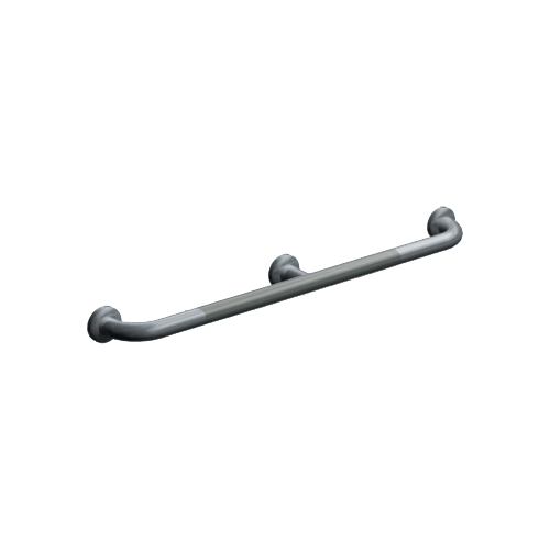 ASI 3702-54P Straight Grab Bar With Intermediate Support 54