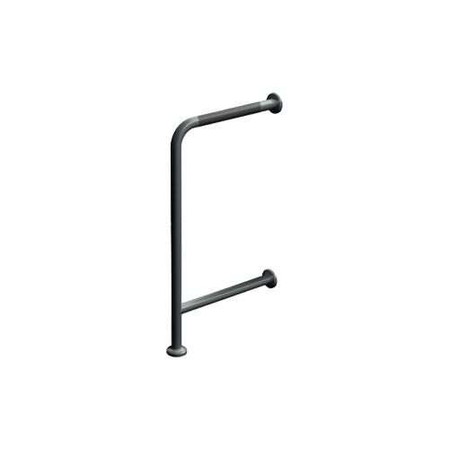 "ASI 3875-P Wall To Floor Grab Bar 18"" X 33"" – Peened"