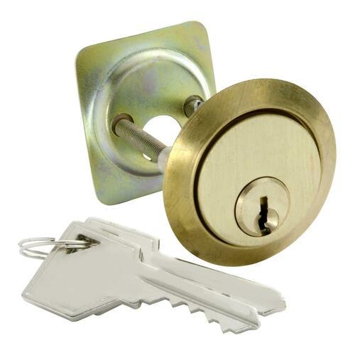 First Watch 1150 5-Pin Rim Cylinder, Polished Brass
