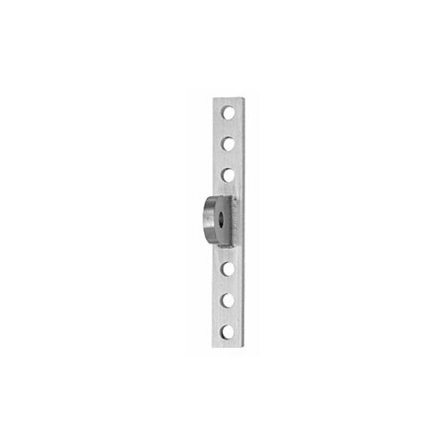 CRL AW9CWMBS Brushed Stainless Curtain Wall Mounting Plate for 12 mm Rods