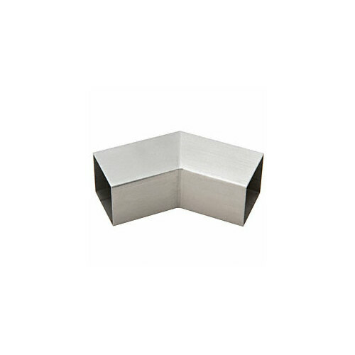 CRL HRS15H3BS Brushed Stainless 135 Degree Horizontal Corner for 1-1/2