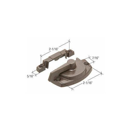 CRL TH23080 Truth Bronze Sash Lock with Lugs - 7/16