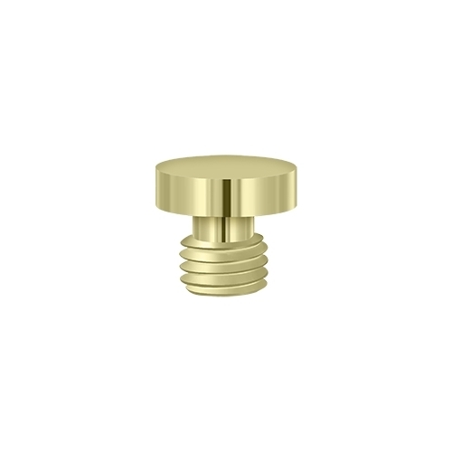 Deltana DSBU3-UNL Button Tip, Unlacquered Brass