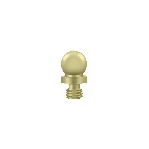 Deltana CHBT3-UNL Ball Tip, Unlacquered Brass