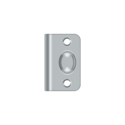 Deltana SPB349U26D Strike Plate for Ball Catch and Roller Catch, Brushed Chrome