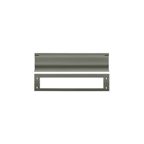 Deltana MS0030U15A Mail Slot, HD, Antique Nickel