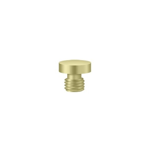 Deltana CHBU3-UNL Button Tip, Unlacquered Brass