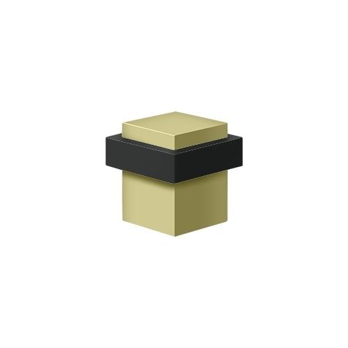 Deltana UFBS138U3-UNL Square Universal Floor Bumper 1-3/8