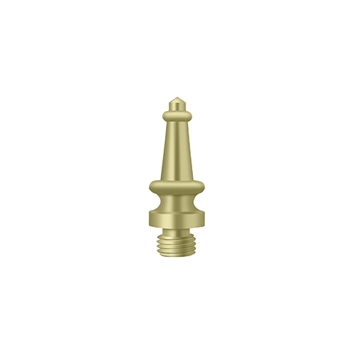 Deltana DSST3-UNL Steeple Tip, Unlacquered Brass
