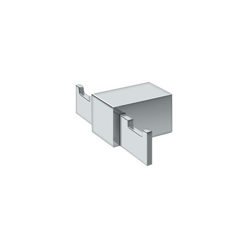 Deltana ZA2010-26 Double Robe Hook ZA Series, Polished Chrome