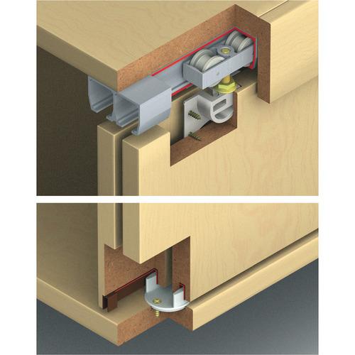 Hafele 406.70.139 Sliding Door Hardware