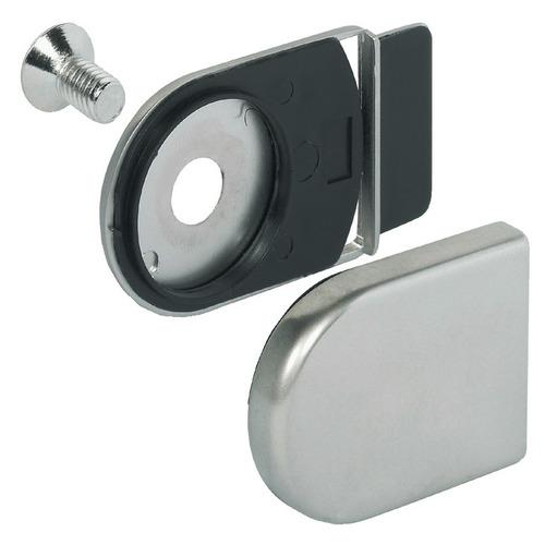 Hafele 233.40.610 Counterpiece for Glass Door Cam Lock