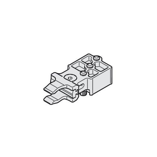 Hafele 942.30.042 Track buffer with adjustable retaining spring