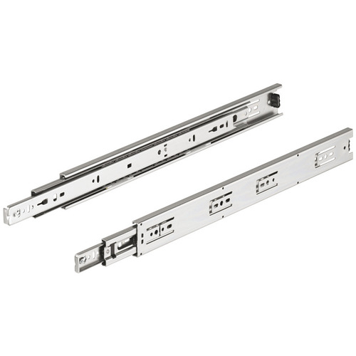 Hafele 422.91.956 Accuride 3832DO Telescopic Detent Out Ball Bearing Drawer Slide